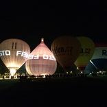 Sobotní večer na přehradě byl balónový