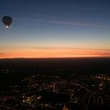 Noční let z Medlánek do Velkých Němčic