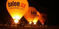 Večer plný balónů na Brněnské přehradě