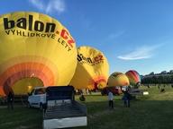 19. ročník létání balónů nad Brnem odstartoval