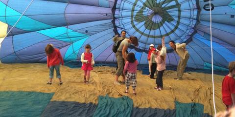 Prohlídka balónu pro děti